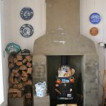 Aldeburgh Lookout fireplace